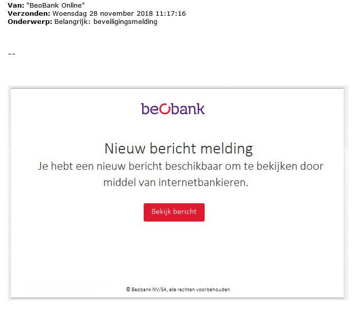 Internet dating e-mail oplichting