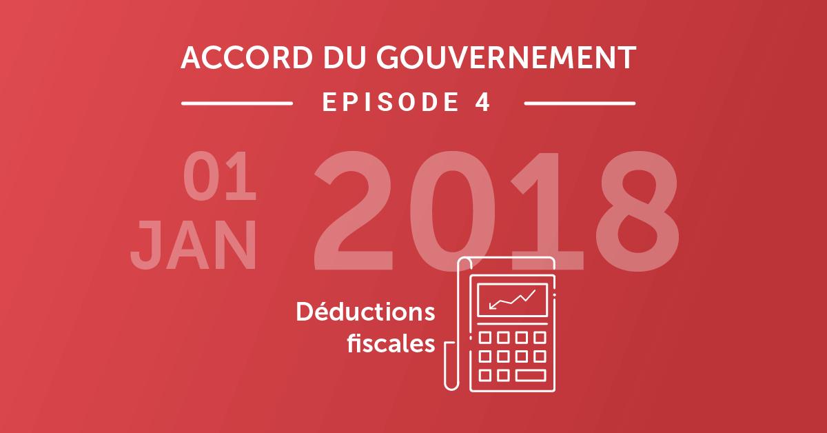 Que vous réserve 2018 en matière de déductions fiscales?