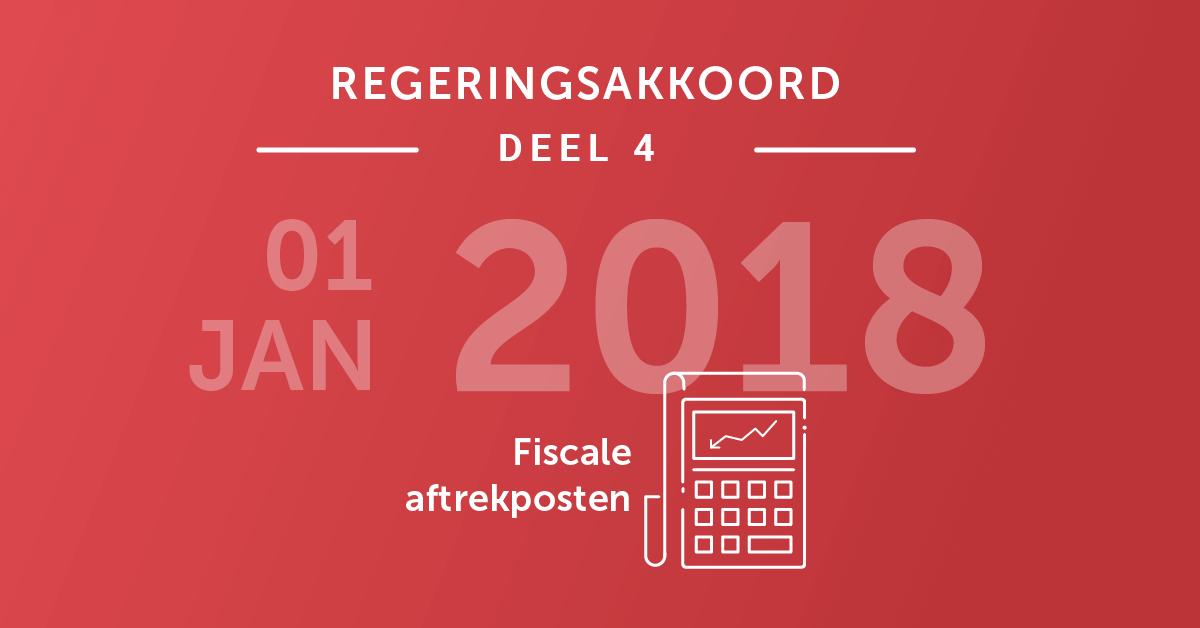 Wat brengt 2018 op fiscaal vlak?