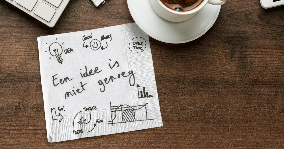 Een idee is niet genoeg, om te groeien heb je het beste businessplan nodig!