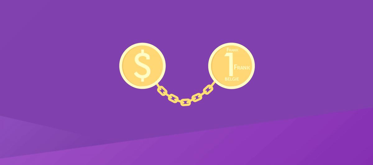 Waarom veranderen de wisselkoersen tussen verschillende valuta?
