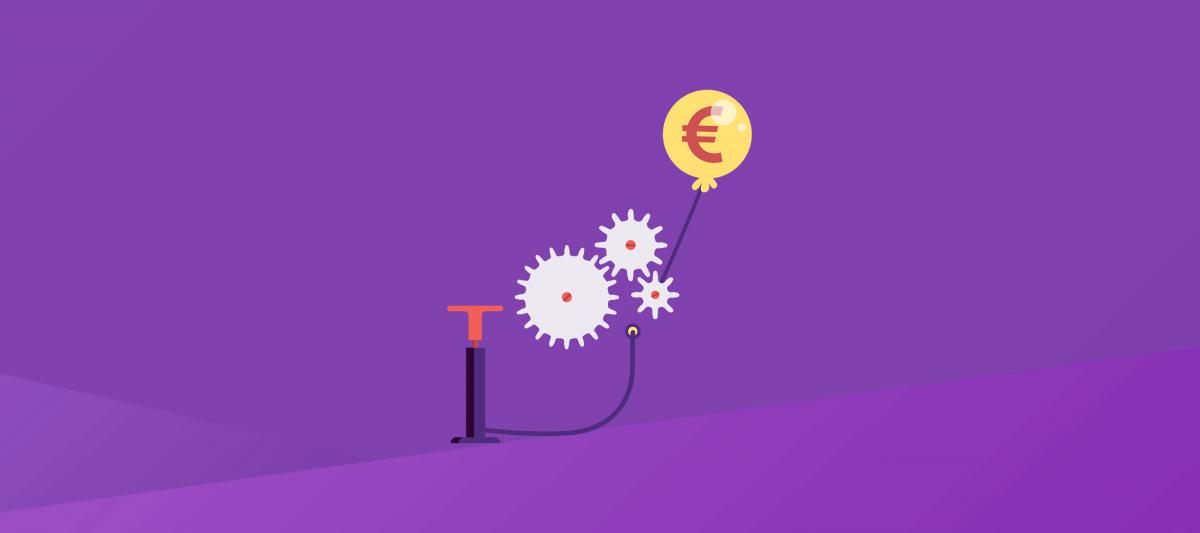 Een klein beetje inflatie is nodig voor een gezonde economie