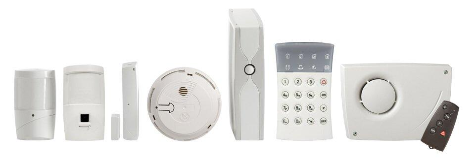 système alarme matériel sans fil Home Secure