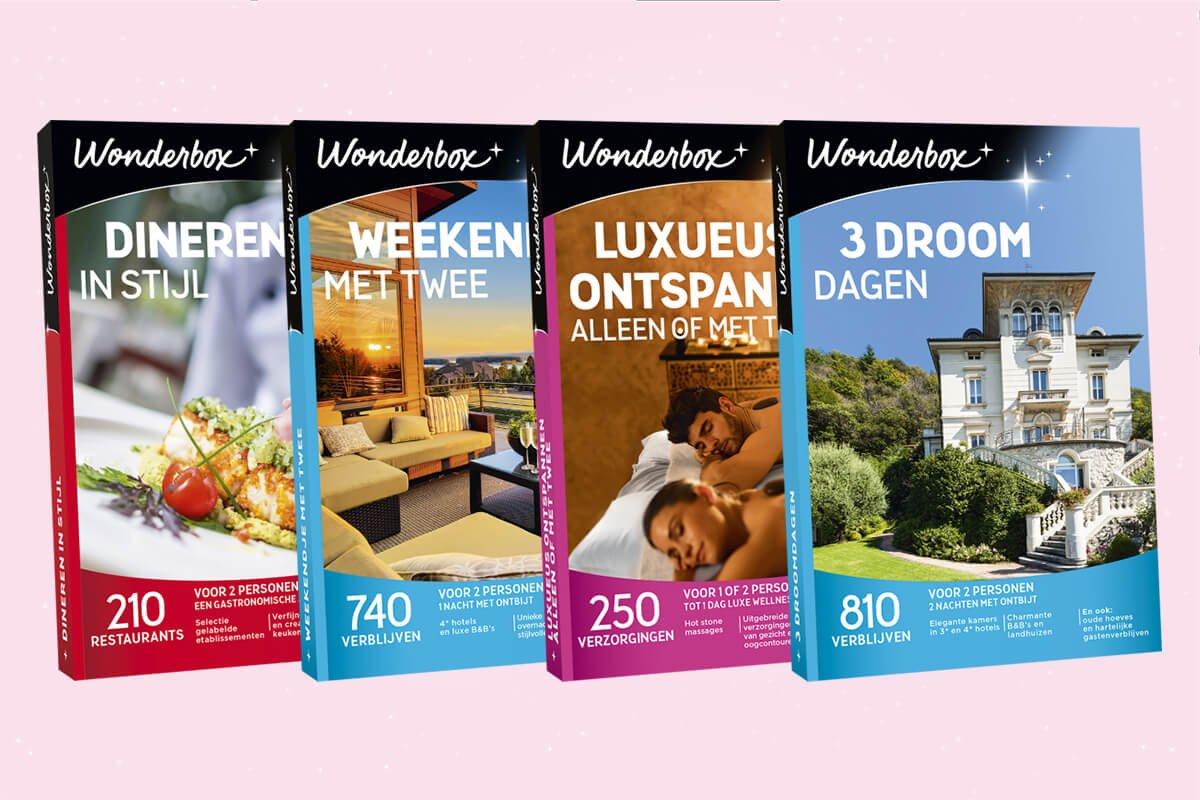 15 Wonderboxen te winnen