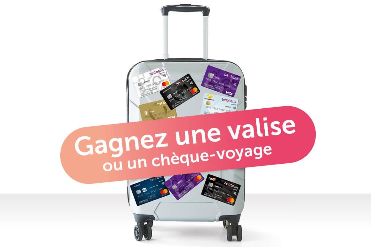 800 trolleys et un chèque-voyage de 2.500 euros à gagner