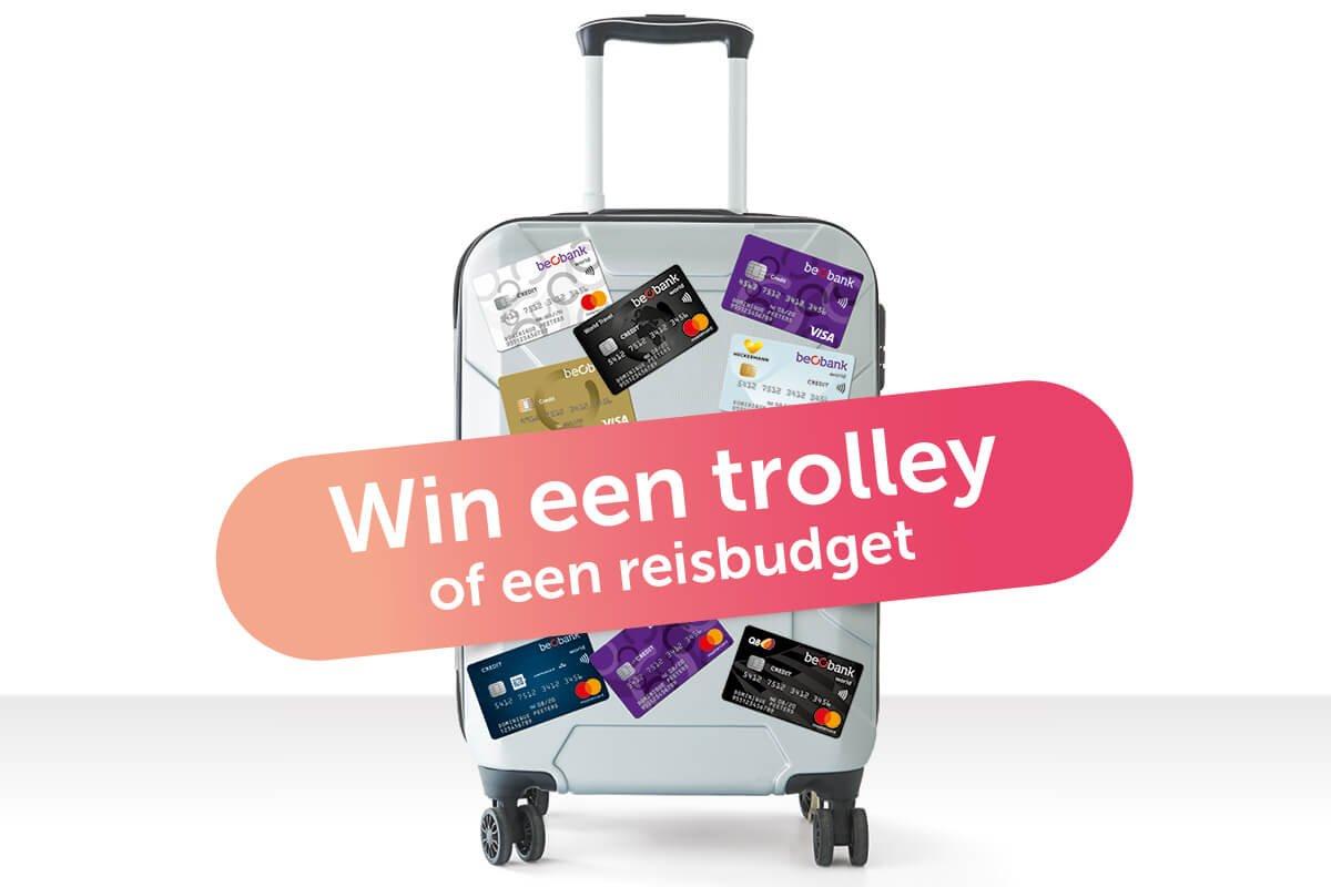800 trolleys en 2.500 euro te winnen