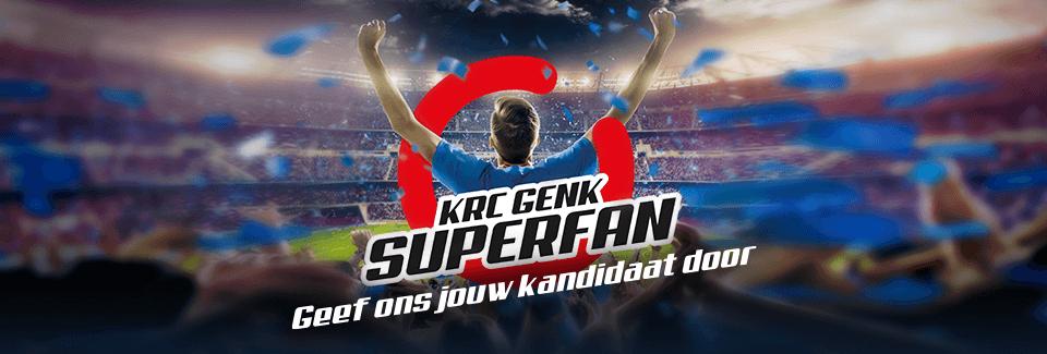 Wordt jouw vriend, familied, collega,... dé KRC Genk Superfan?