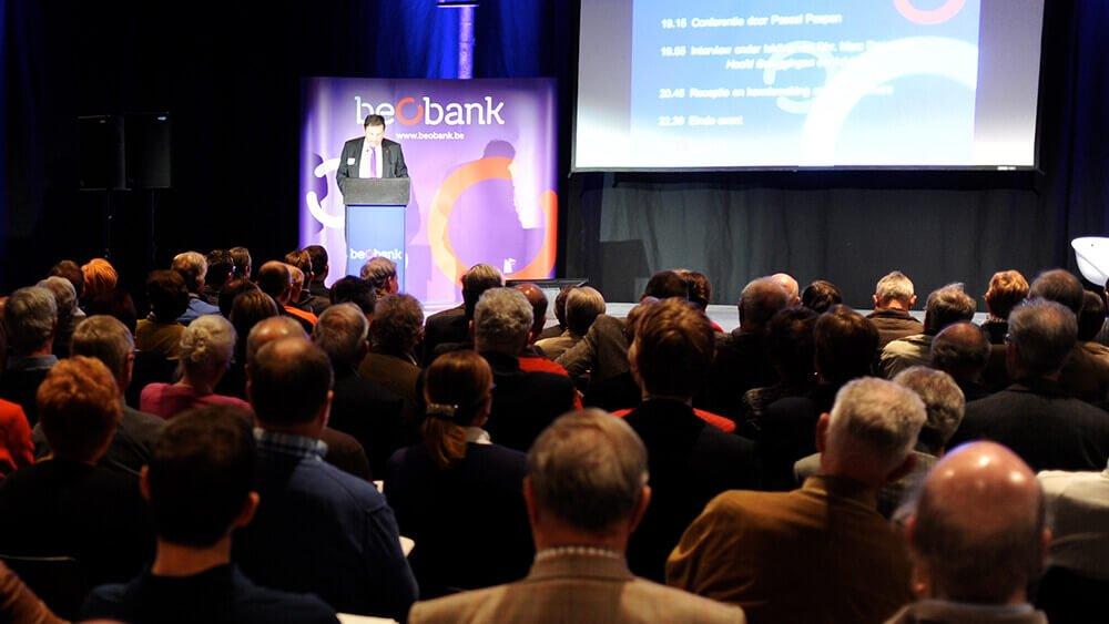 Invitation aux conférences Beobank