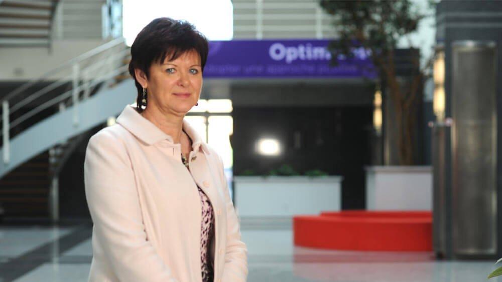 Carine Van Eesbeke, Responsable du Service Clientèle chez Beobank